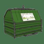 Conteneur déchets industriels vert